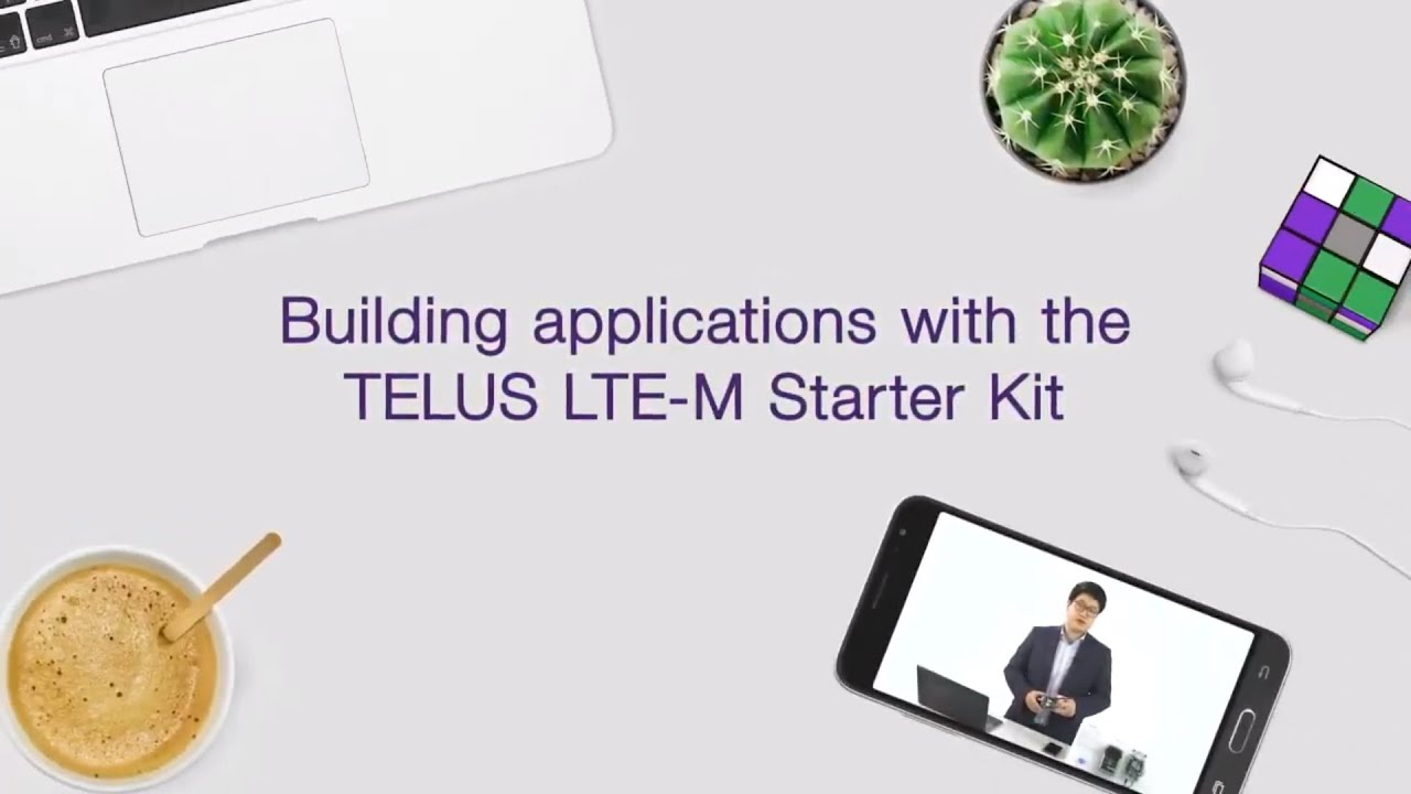 Making innovation simple: a demo of the TELUS LTE-M IoT Starter Kit