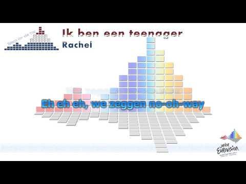 """Rachel """"Ik ben een Teenager"""" (The Netherlands) - [Karaoke]"""
