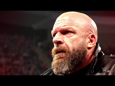 Triple H battles Batista in a No Holds Barred Match at WrestleMania