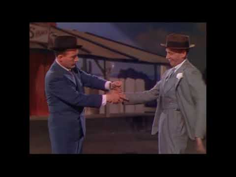 Astaire Crosby Blue Skies Duo Technicolor
