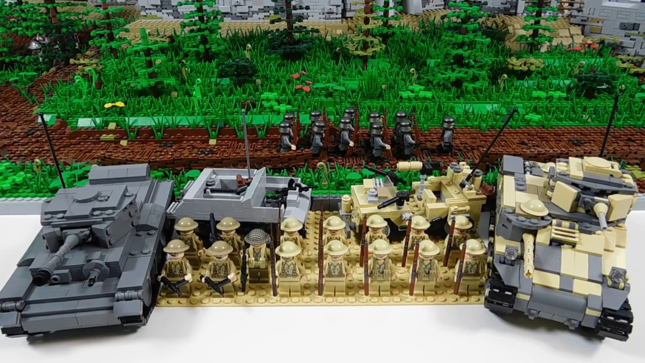 Lego WWII British Forces (February 2017) - YouTube