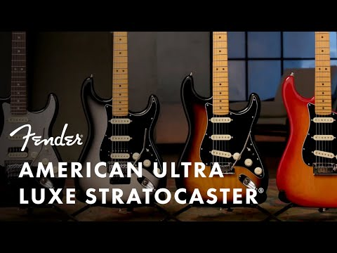 American Ultra Luxe Stratocaster | American Ultra | Fender