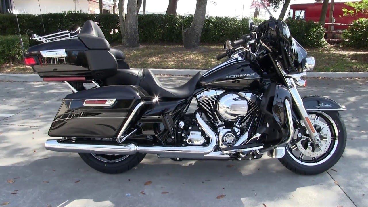 2016 Harley Davidson Ultra Limited Black Touring Bike