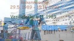 SILJA  SERENADE - Dry dock - Telakka