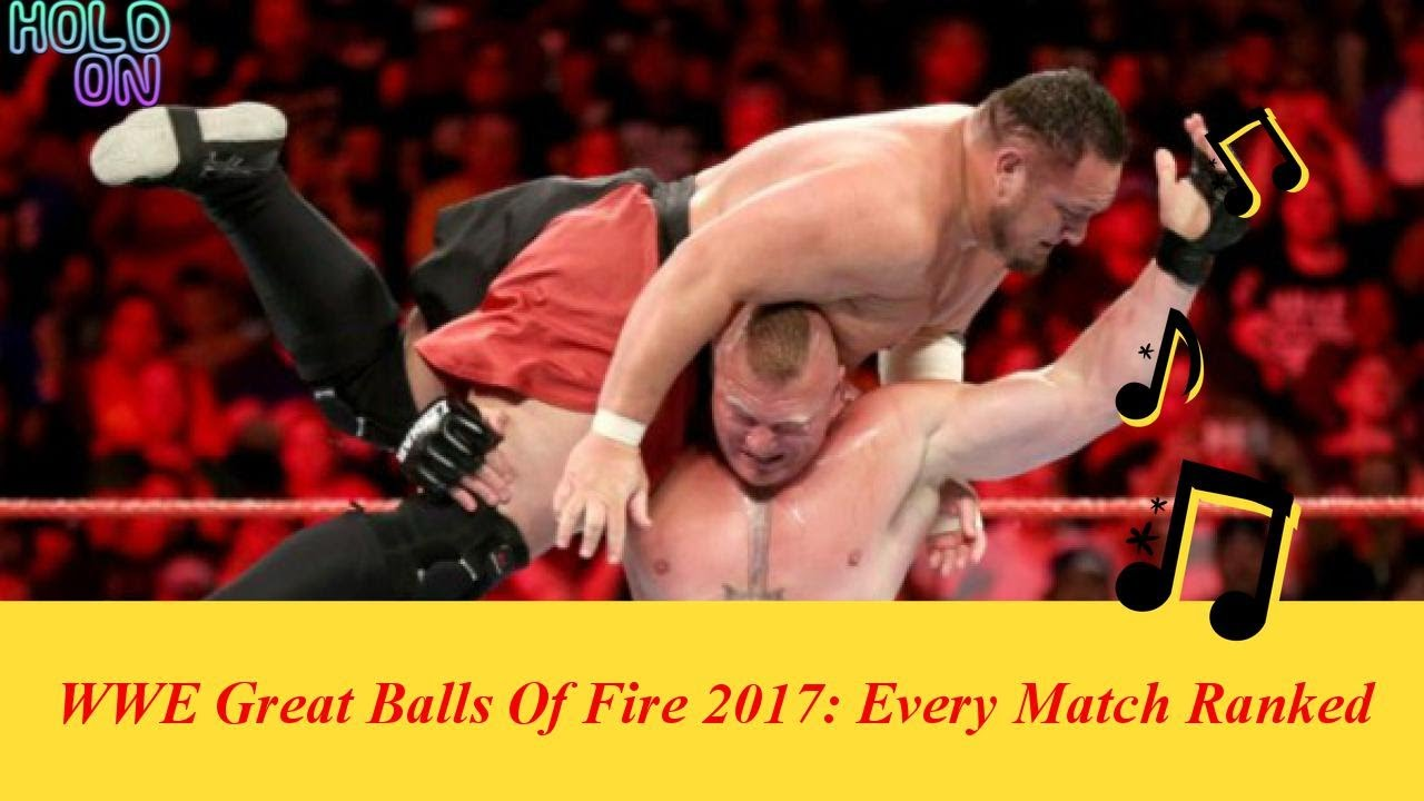 WWE Great Balls Of Fire 2017: Every Match Ranked From Worst To Best