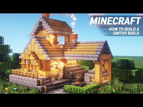 Minecraft : BLACKSMITH TUTORIAL|How to Build in Minecraft (#70)