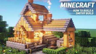 Minecraft : BLACKSMITH TUTORIAL|How to Build in Minecraft #70 YouTube