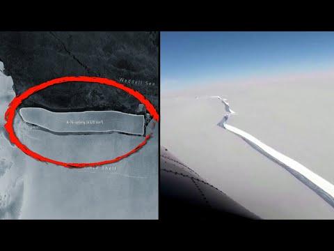 World's Largest Iceberg Just Fell Off Antarctica