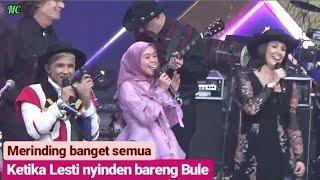 MERINDING!!! Lesti nyinden ES LILIN bersama Bule Dangdut