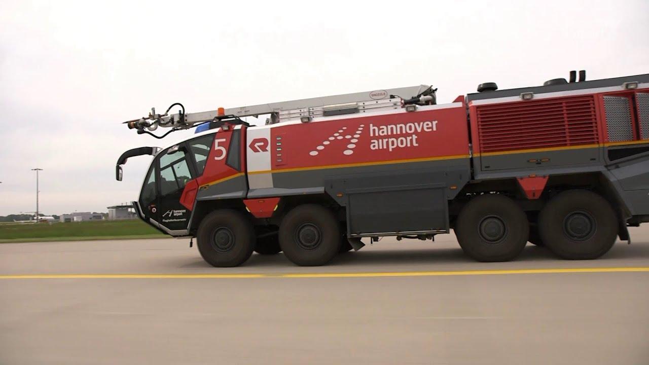 High Tech Mit 1000 Ps Panther Der Flughafenfeuerwehr Am Hannover Airport