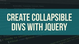 CREATE COLLAPSIBLE DIVS WITH JQUERY
