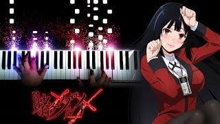 """[Kakegurui×× (Season 2) OP] """"Kono Yubi Tomare"""" - JUNNA (Piano)"""