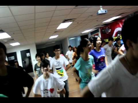 Hanoi Jam FlashMob Training Part 1 (Funny)