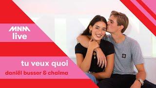 MNM LIVE:  Daniël Busser & Chaïma - Tu veux quoi || MNM JUICE