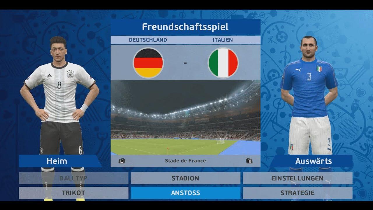 em deutschland vs italien