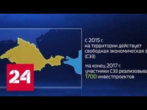Что дает Крыму свободная экономическая зона – Россия 24