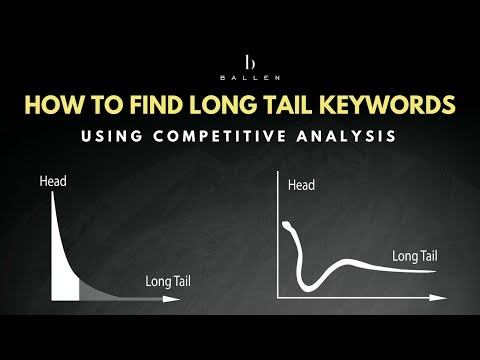 How to find Longtail Keywords using Competitive Analysis | SEO Keyword Research