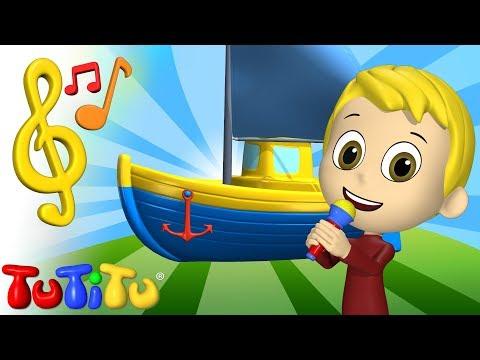 TuTiTu Toys and Songs| Karaoke for Children | Boat
