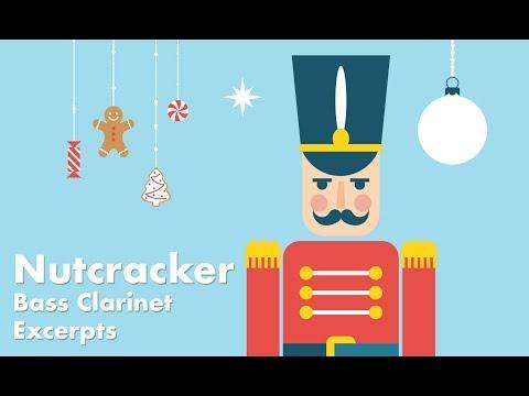Bass Clarinet orchestral excerpt: Nutcracker Suite