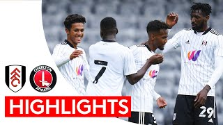 Fulham 1-0 Charlton Athletic   Pre-Season Highlights   Fabio Carvalho Goal Wins It In Front Of Fans