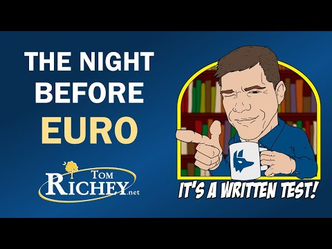 The Night Before Euro (Live AP Euro Review)