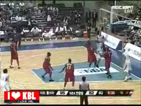 전태풍(Tony Atkins) - NBA  ASIA challenge highlight (South korea)