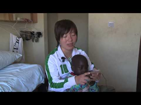 See how Baba, a 3 year old African orphan, captured the heart of Phyllis Pang
