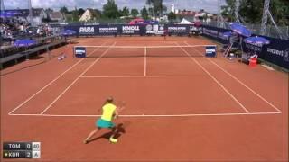 Tomova Viktoriya v Korpatsch Tamara - 2016 ITF Bad Saulgau