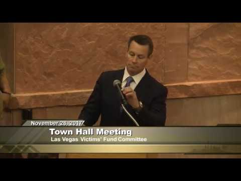 Las Vegas Victims' Fund Town Hall Mtg. (Morning Session)