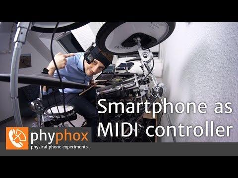 Using A Smartphone As A MIDI Controller