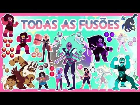 Steven Universo - TODAS AS FUSÕES