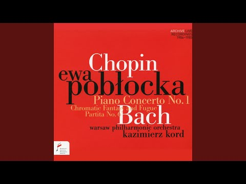 Fryderyk Chopin: Piano Concerto In E Minor, Op. 11: I. Allegro Maestoso