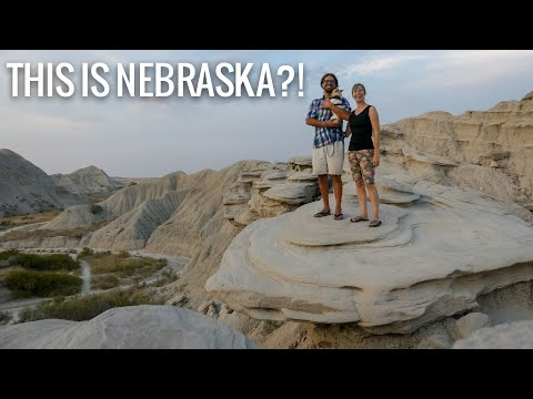 Hidden Gems in Nebraska || Scottsbluff National Monument & Toadstool Geologic Park