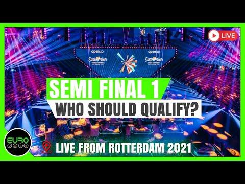 EUROVISION 2021 SEMI FINAL 1: LET'S TALK QUALIFIERS!! (LIVE)