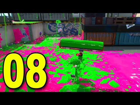 Splatoon 2 - Part 8 - Trying the ROLLER!