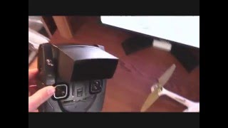 Hubsan H501s with Ebay SUN SHEILD Drone Quadcopter