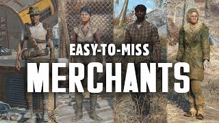 Easy-To-Miss Merchants in Fallout 4 - Slim, Bethany, Opal, Leonard, & More