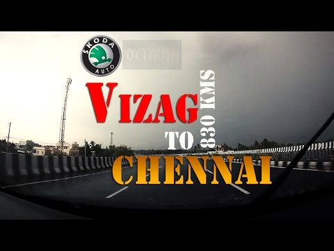 Accident | Formula 1 | Vizag - Chennai by road | Skoda Octavia | Long Drive | Travel Lapse | SJ5000+