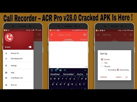 Call Recorder – ACR Pro v28.0 Cracked APK Is Here !
