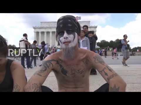 USA: Juggalos descend on Washington DC to protest gang designation by FBI
