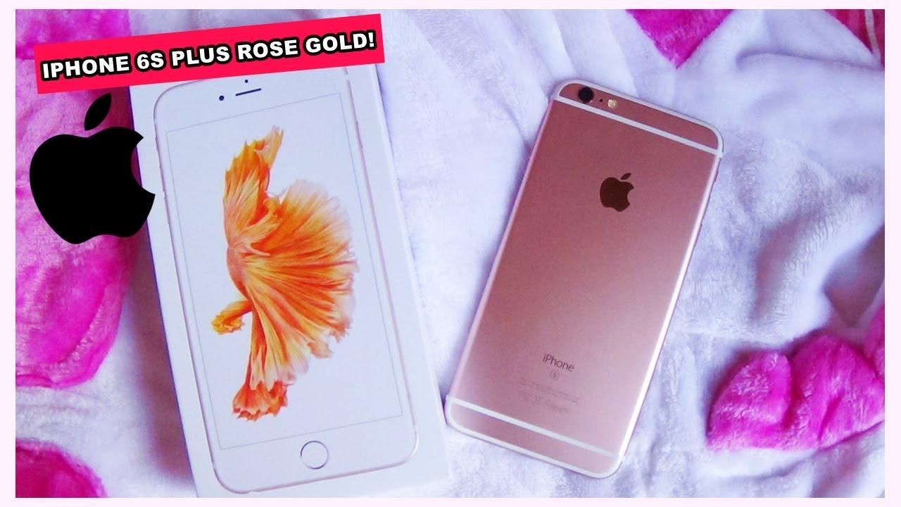 Iphone  Rose Gold O