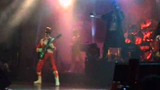 power ranger live band