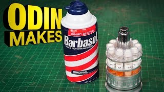 Odin Makes: Barbasol Cryocan from Jurassic Park