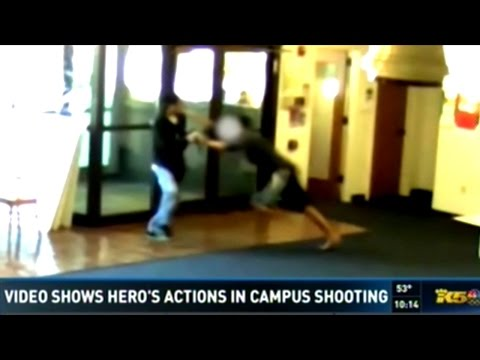 Video Shows Man With Pepper Spray Stop Active Shooting On Seattle College Campus