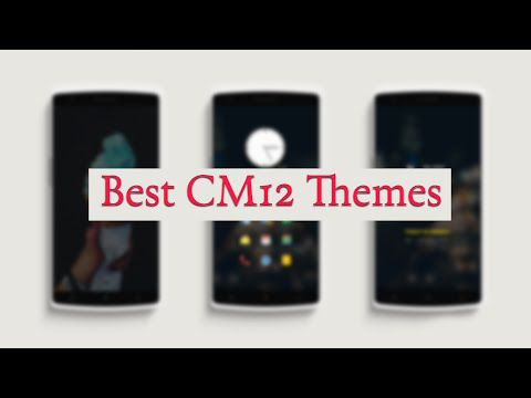 Best 6 Cyanogenmod 12 (CM 12) Themes #3