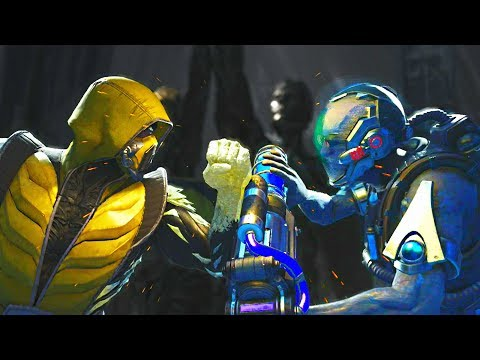 Injustice 2 - Sub Zero vs Mr Freeze - All Intro Dialogue, Super Moves And Clash Quotes