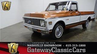 1972 Chevrolet C10, Gateway classic cars Nashville #910nsh