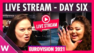 Eurovision 2021 Rehearsals livestream Day 6: Semi-Final 2 Austria - Serbia, The Big 5 & Host Country