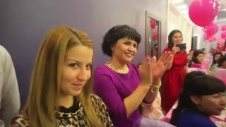 """Открытие салона """"Nazik Spa"""" в Шымкенте. 2015 г."""