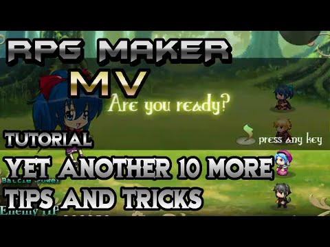 RPG Maker MV Tutorial: Yet Another 10 More Epic Tips And Tricks!